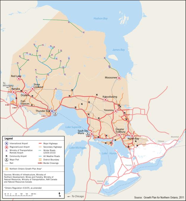 Photo of Northern Ontario Transportation Network